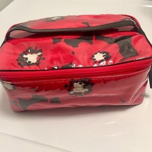 Kate Spade Large Cosmetic Bag Poppy Red